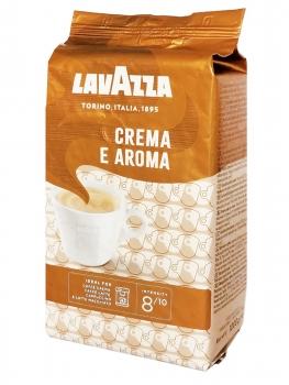 Кофе в зернах Lavazza Crema e Aroma (Лавацца Крема е Арома)  1 кг, вакуумная упаковка