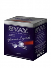 Чай красный Svay Yunnan Legends (Легенды Юннаня), упаковка 20 саше по 2 г