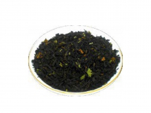 Чай черный Клубника со сливками, упаковка 500 г, крупнолистовой ароматизированный чай