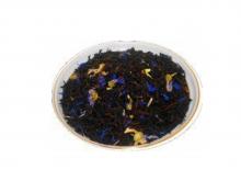 Чай черный Эрл Грей Бирюзовый, упаковка 500 г, крупнолистовой ароматизированный чай