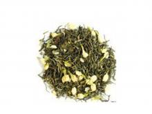 Чай зеленый Высокогорный с жасмином, упаковка 500 г, крупнолистовой  ароматизированный чай