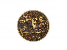 Чай черный со стевией (сладкая трава), упаковка 500 г, крупнолистовой ароматизированный чай