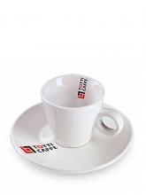 Кофейная пара Totti, чашка (150мл) + блюдце