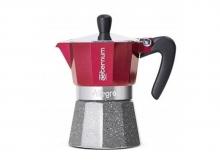 Кофеварка гейзерная Bialetti Aeternum Allegra Petra Rouge (3 чашки)