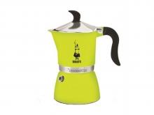 Кофеварка гейзерная Bialetti FIAMETTA 3 порции (150мл) цвет лайм