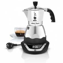 Кофеварка электрическая гейзерная  Bialetti Moka Timer (3 порции)