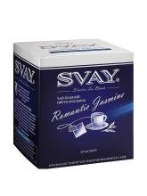 Чай зеленый Svay Romantic Jasmine (Чарующий жасмин), упаковка 20 саше по 2 г